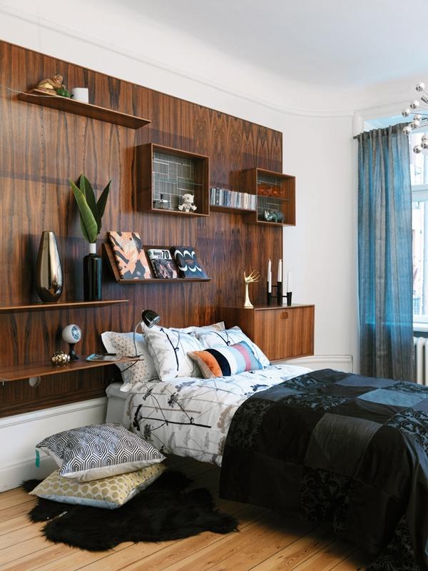 коричневый цвет в дизайне интерьера