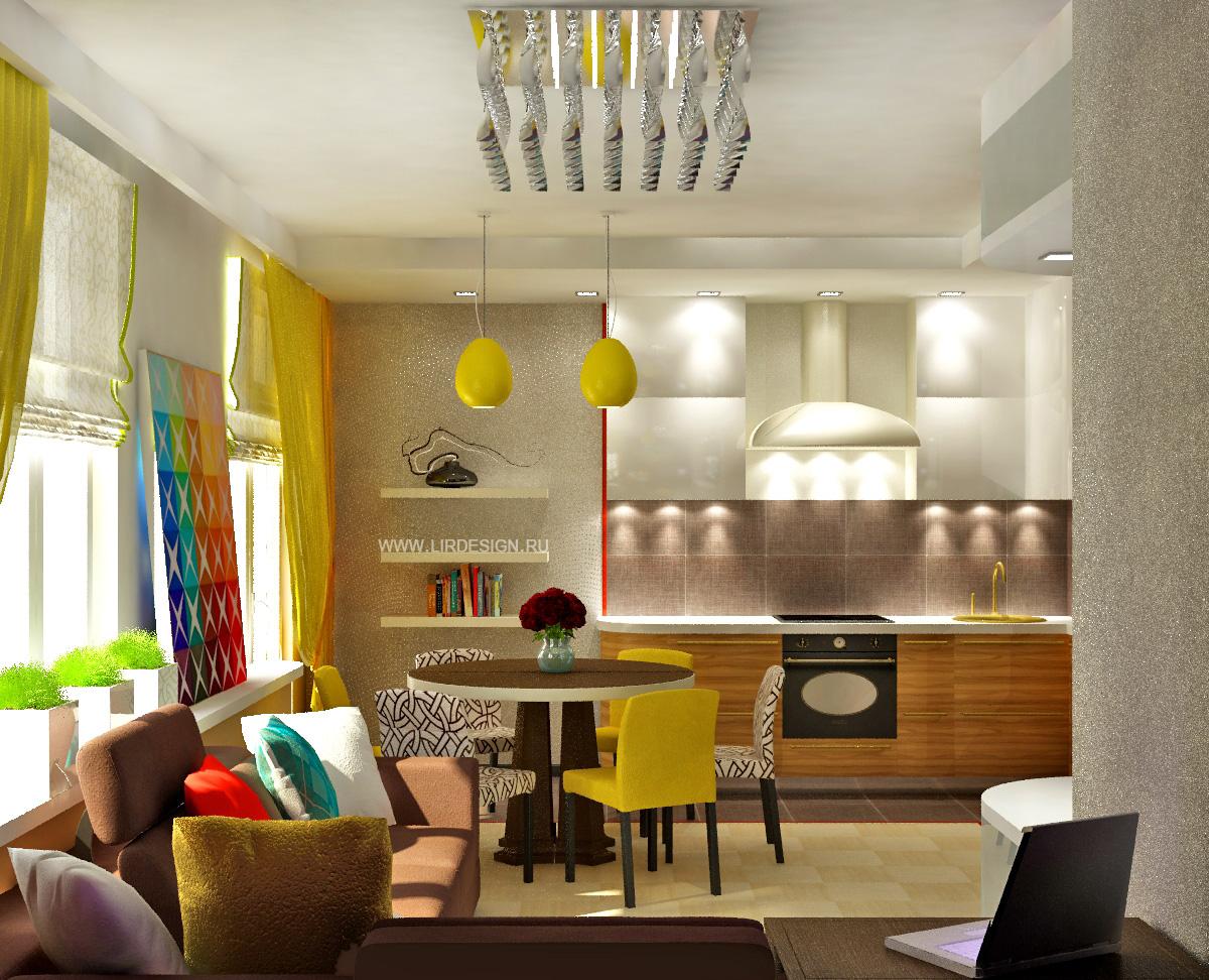 Дизайн квартир с наружной проводкой
