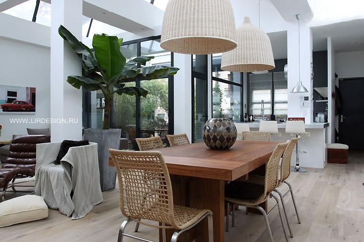 Комнатные растения в дизайне интерьера.